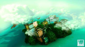 Modern Sky City Minecraft Map & Project