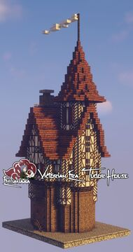 Victorian Era Tudor House #2 Minecraft Map & Project