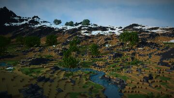 Terraforming - small terrain test Minecraft Map & Project