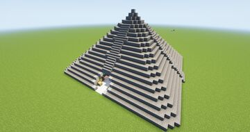 Pyramide Base (50%) Minecraft Map & Project