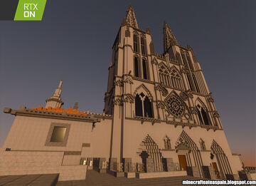 Special Minecrafteate in RTX, Nº24: Replica of the Cathedral of Burgos, Spain. Minecraft Map & Project