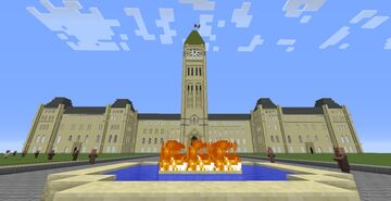 Ottawa, The Capital of Canada---La Capitale du Canada Minecraft Map & Project