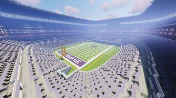 Custom NFL Stadium Minecraft Map & Project