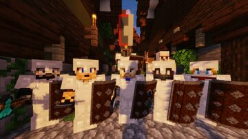 Custom Models Showcase -  Weapons Shields Hats Minecraft Map & Project