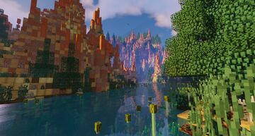 Bryce Canyon terraforming concept ! Minecraft Map & Project