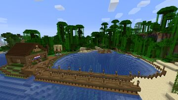 Pacific Island Minecraft Map & Project