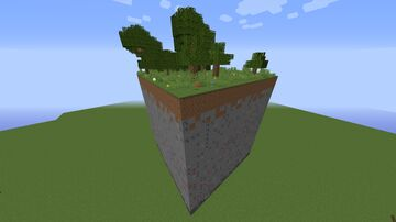 4 Chunk Survival Minecraft Map & Project