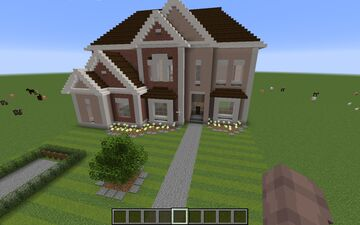 Large Family House Minecraft Map & Project