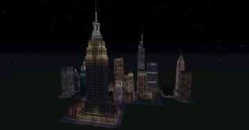 New York City 1/3 scale Minecraft Map & Project