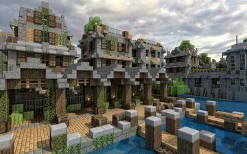 Vila perto do mar Minecraft Map & Project