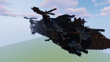 "Airship - Destroyer class ""Nemésis"" Minecraft Map & Project"