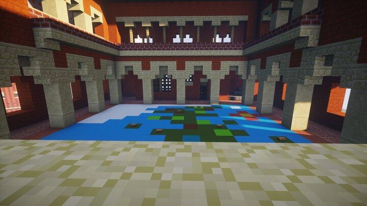 Map courtyard