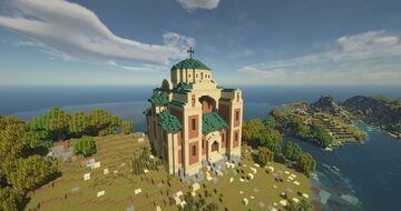 Hagia Sophia in Minecraft Minecraft Map & Project