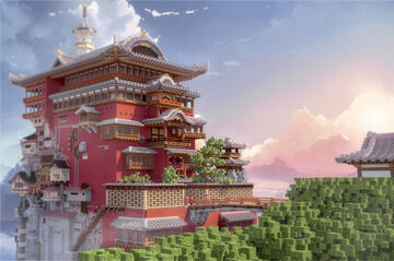 Spirited Away Minecraft Map & Project