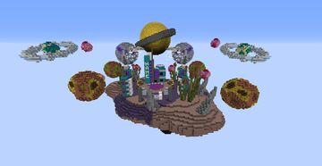 Space lobby Minecraft Map & Project