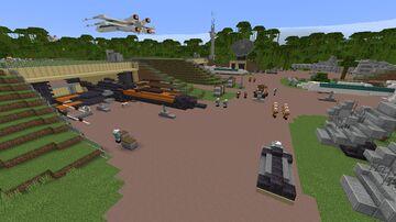 Star Wars: D'Qar Adventure Map Minecraft Map & Project