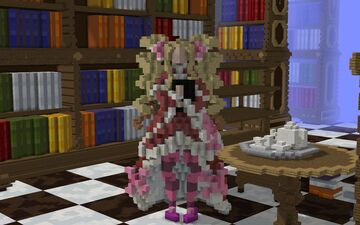 Beatrice and the Forbidden Library from Re:zero Minecraft Map & Project