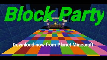 Block Party For Pocket Edition Minecraft Map & Project
