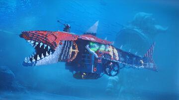 Mechanical Shark! Minecraft Map & Project