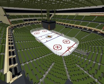 Minecraft Xcel Energy Center- Home of the Minnesota Wild (+Download) Minecraft Map & Project