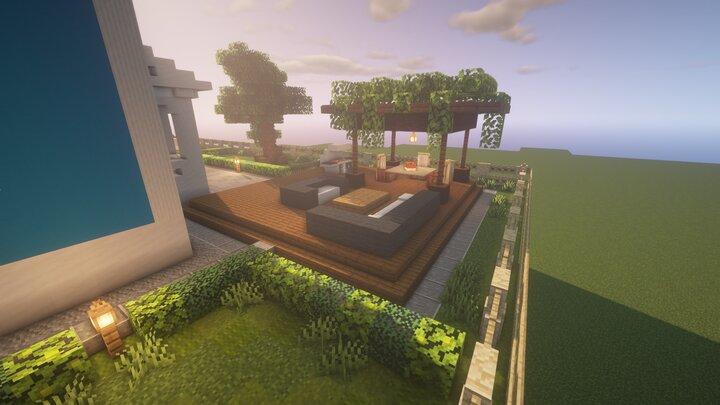 Interior Decorators Minecraft Detail Contest : Modern ...