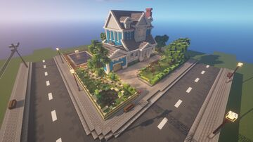 Interior Decorators Minecraft Detail Contest : Modern house by MattHVL & Colisseo92 Minecraft Map & Project