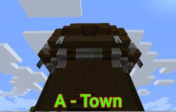 A Very Old Town Minecraft Map & Project
