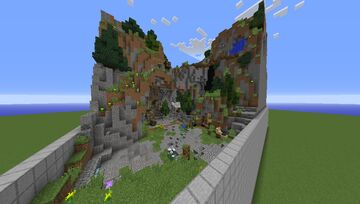 Small PvP-Arena | Plots - 10 Minecraft Map & Project
