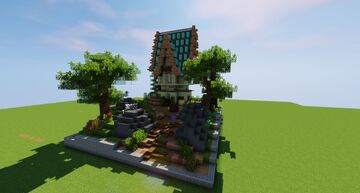 Small Plot Build Minecraft Map & Project