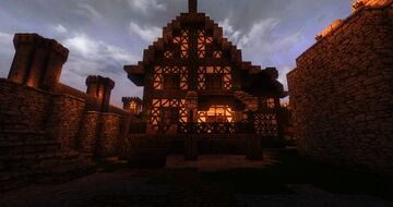 Medieval tavern / inn (Medieval Citadel Project) Minecraft Map & Project