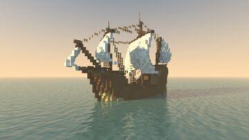 Santa Maria Minecraft Map & Project