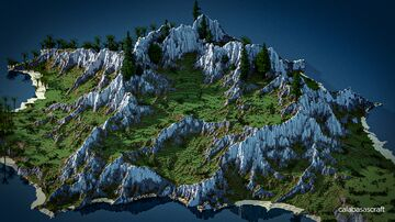 Handsome Island Minecraft Map & Project