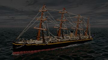 RMS Atlantic (1871) Minecraft Map & Project