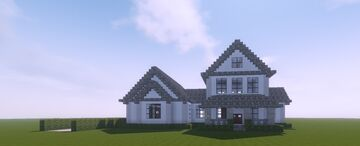 Suburban House Minecraft Map & Project