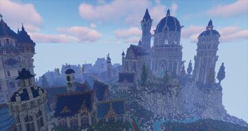 Grey-Havens (South Mithlond) Minecraft Map & Project