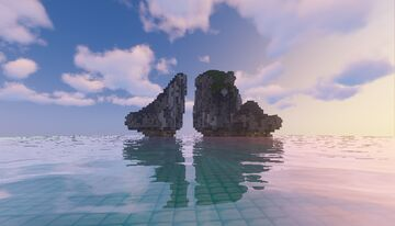 Ha Long Bay - Viet Nam Minecraft Map & Project