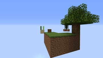 Skyblock: A new world Minecraft Map & Project