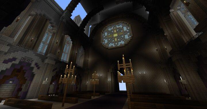Original Design for Cathedral Interior