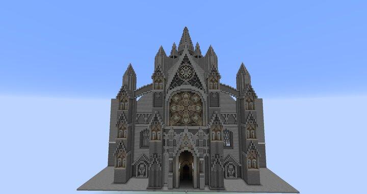 Pontiff Cathedral Entrance