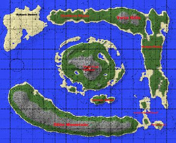 Survival Island Minecraft Map & Project