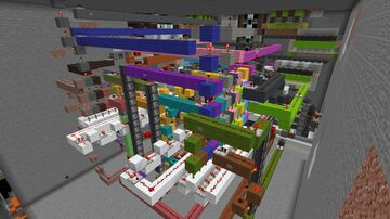 All In One Room Minecraft Map & Project