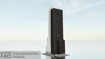 XYZ Telecommunications Building | Columbia | New Lapusia City Minecraft Map & Project