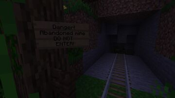 Abandoned Mine Minecraft Map & Project