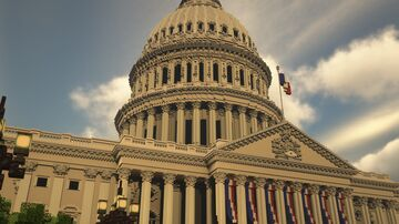 United States Capitol Minecraft Map & Project
