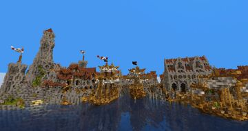 ALTGARD, a rich and iconic medieval city Minecraft Map & Project