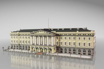 The Royal Palace, Oslo // Norway Minecraft Map & Project