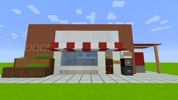Grocery Store Minecraft Map & Project