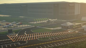 Triumph Motorcycles Factory, Hinckley Minecraft Map & Project