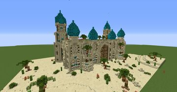 Arabian Palace Minecraft Map & Project