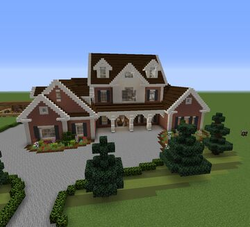 A nice country home Minecraft Map & Project